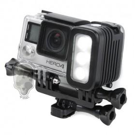 TMC Camera Headlight GoPro Compatible 3 Cree LED 280 Lumens - HR325 - Black - 5