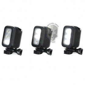 TMC Camera Headlight GoPro Compatible 3 Cree LED 280 Lumens - HR325 - Black - 6