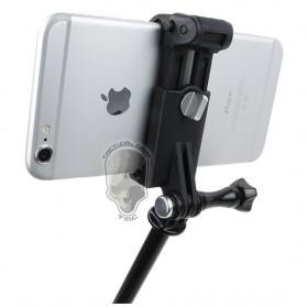 TMC Mobile Phone Retaining Clip Holder for Monopod - HR335 - Black - 4