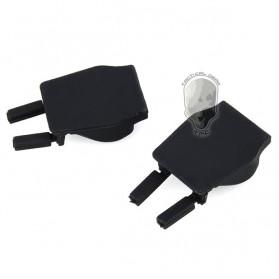TMC Anti Rattle Insert Rubber Ver2 Gopro / Xiaomi Yi / Xiaomi Yi 2 4K Mount 2Pcs - Black