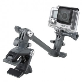 TMC GoPro Adjustable Music Mount Set for GoPro / Xiaomi Yi / Xiaomi Yi 2 4K - HR359 - Black