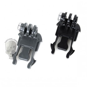 TMC 180 Degree Mount 1 PCS for Gopro Session GoPro / Xiaomi Yi / Xiaomi Yi 2 4K - HR363 - Black - 2
