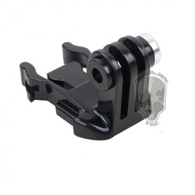 TMC 180 Degree Mount 1 PCS for Gopro Session GoPro / Xiaomi Yi / Xiaomi Yi 2 4K - HR363 - Black - 3