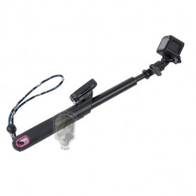 TMC Monopod with GoPro Remote Holder for Action Camera - HR367 - Black - 2