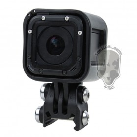 TMC Plastic Mount 20mm Rail for GoPro / Xiaomi Yi / Xiaomi Yi 2 4K  - HR387-BK - Black - 3