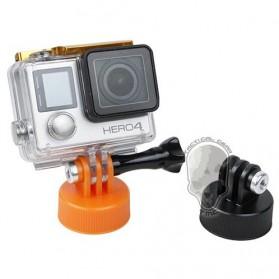 TMC Mount Tutup Botol for GoPro / Xiaomi Yi 1 / 2 4K - HR383-BK - Black - 2