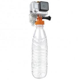 TMC Mount Tutup Botol for GoPro / Xiaomi Yi 1 / 2 4K - HR383-BK - Black - 3