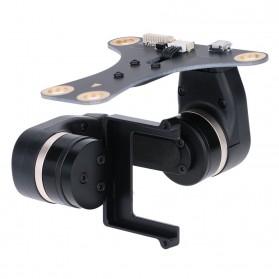 Feiyu Tech Mini 2D Gimbal 2-Axis Brushless AirCraft Aerial Photography for GoPro / Xiaomi Yi / Xiaomi Yi 2 4K - Black