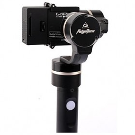 Feiyu Tech FY-G4 3-Axis Handheld Steady Gimbal for GoPro - Black - 5