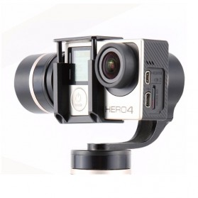 Feiyu Tech FY-G4 QD 3-Axis Handheld Steady Gimbal with Quick Dismantling for GoPro and Xiaomi - Black - 2