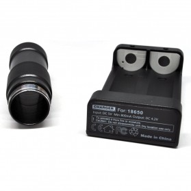 Feiyu Tech G4 Battery Extender with 2 PCS 18650 Battery for G3/G4 Gimbal - Black - 4