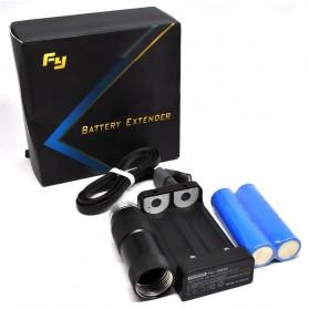 Feiyu Tech G4 Battery Extender with 2 PCS 18650 Battery for G3/G4 Gimbal - Black - 6