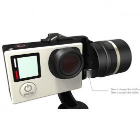 Feiyu Tech FY-G4S 3-Axis Handheld Steady Gimbal for GoPro - Black - 5