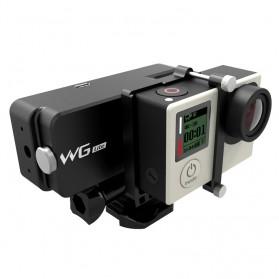 Feiyu Tech WG Lite Single Axis Wearable Gimbal for GoPro 3/3+/4 - Black