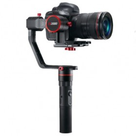 Feiyu Tech A2000 3-Axis Handheld Gimbal Single Grip for Mirrorless DSLR - Black