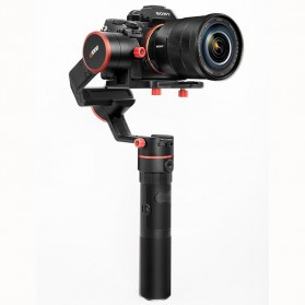Feiyu Tech A1000 3-Axis Handheld Gimbal Single Grip for Mirrorless Camera - Black