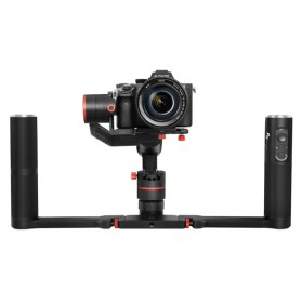 Feiyu Tech A1000 3-Axis Gimbal with Dual Handlegrip for Mirrorless Camera - Black