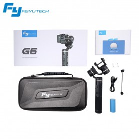 Feiyu Tech G6 3-Axis Handheld Gimbal Splashproof for GoPro Hero 7/6/5/4 - Black - 6