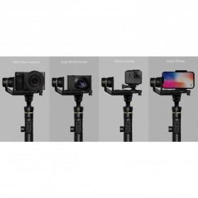 Feiyu Tech G6 Plus 3-Axis Handheld Gimbal Splashproof for Mirrorless Camera - Black - 2