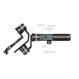 Feiyu Tech G6 Plus 3-Axis Handheld Gimbal Splashproof for Mirrorless Camera - Black - 4