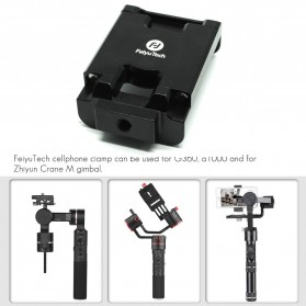 Feiyu Tech G6 Plus 3-Axis Handheld Gimbal Splashproof for Mirrorless Camera - Black - 6
