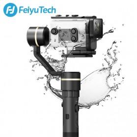 Feiyu Tech G5GS 3-Axis Handheld Gimbal Waterproof for Sony AS50 / FDR-X3000 - Black - 2