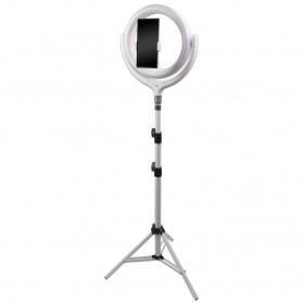 Remax Life Fill Ring Light Photo Studio Vlogging with Tripod - RL-LT17 - White - 2