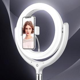 Remax Life Fill Ring Light Photo Studio Vlogging with Tripod - RL-LT17 - White - 9