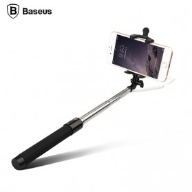 Baseus Pro Selfie Series Monopod with Wired Shutter for Android / iOS - Black - 1