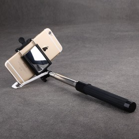 Baseus Pro Selfie Series Monopod with Wired Shutter for Android / iOS - Black - 5