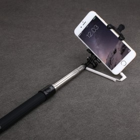 Baseus Pro Selfie Series Monopod with Wired Shutter for Android / iOS - Black - 8