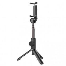 Baseus Lovely Tongsis Tripod Selfie Stick with Bluetooth Shutter - SUDYZP-E01 - Black - 2