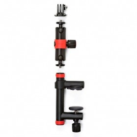 Joby Action Clamp and Locking Arm for Smartphone and Camera GoPro / Xiaomi Yi / Xiaomi Yi 2 4K - Black/Red