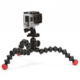 Joby GorillaPod Action Tripod with Mount for GoPro / Xiaomi Yi / Xiaomi Yi 2 4K - Black/Red
