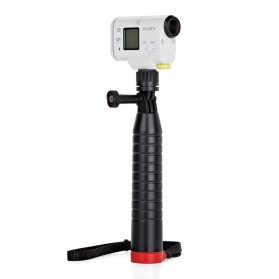 Joby Action Grip Monopod for Smartphone and Action Camera GoPro / Xiaomi Yi - Black/Red