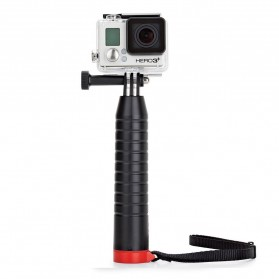 Joby Action Grip Monopod for Smartphone and Action Camera GoPro / Xiaomi Yi / Xiaomi Yi 2 4K - Black/Red - 4