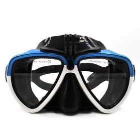 Telesin Kacamata Selam Diving Goggles Glass Mask with Detachable Tripod Mount for Xiaomi GoPro SJCAM - GP-DIV-GS2 - Blue - 6