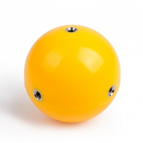 Telesin Floating Ball Bobber 1 Ball for GoPro Xiaomi Yi - Yellow - 2