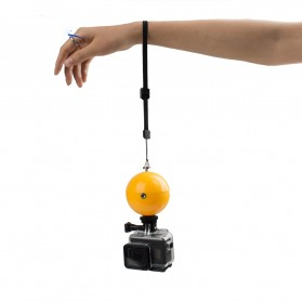 Telesin Floating Ball Bobber 1 Ball for GoPro Xiaomi Yi - Yellow - 3