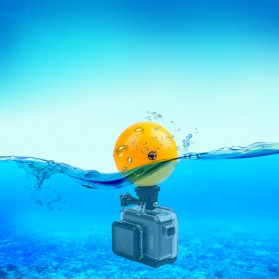 Telesin Floating Ball Bobber 1 Ball for GoPro Xiaomi Yi - Yellow - 4