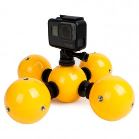 Telesin Floating Ball Bobber 5 Ball for GoPro Xiaomi Yi - Yellow - 2
