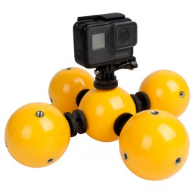 Telesin Floating Ball Bobber 5 Ball for GoPro Xiaomi Yi - Yellow - 3