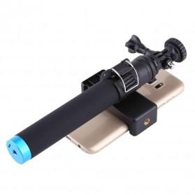 Telesin Tongsis Monopod Tripod dengan Mount GoPro & Smartphone Holder - Black - 5