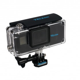 Telesin Extended Battery 2300mAh with Waterproof Case for GoPro Hero 6/5 - Black - 3