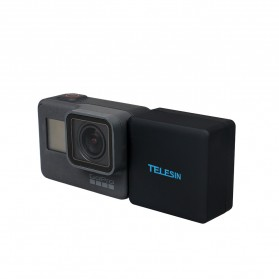 Telesin Extended Battery 2300mAh with Waterproof Case for GoPro Hero 6/5 - Black - 8