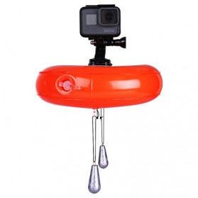 Telesin Inflatable Floating Bobber for GoPro Xiaomi Yi SJCam - Orange - 2