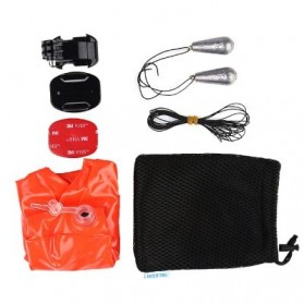 Telesin Inflatable Floating Bobber for GoPro Xiaomi Yi SJCam - Orange - 7