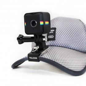 Telesin Cap Backpack Mount for Xiaomi Yi / Xiaomi Yi 2 4K / GoPro - Black - 2