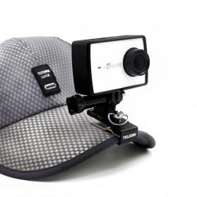 Telesin Cap Backpack Mount for Xiaomi Yi / Xiaomi Yi 2 4K / GoPro - Black - 3