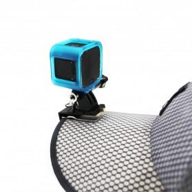 Telesin Cap Backpack Mount for Xiaomi Yi / Xiaomi Yi 2 4K / GoPro - Black - 4